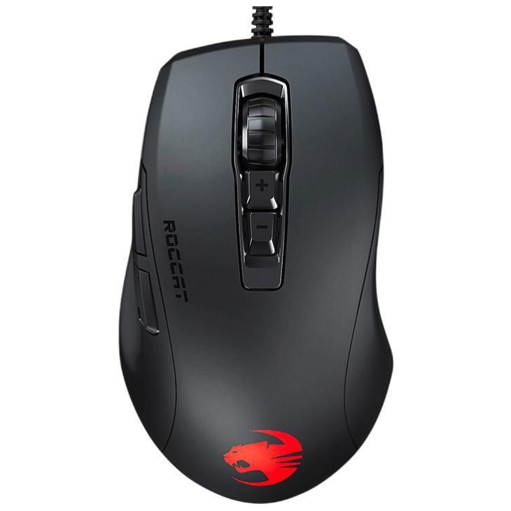 ROCCAT 冰豹 魔幻豹 Kone Pure Ultra 有线鼠标 16000DPI 黑色