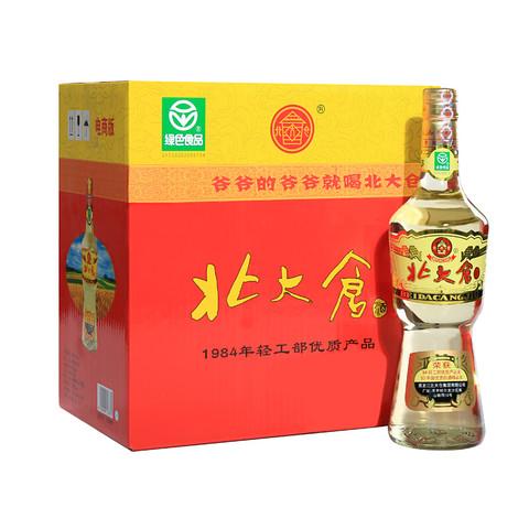 北大仓 大大部优 50度 酱香型白酒 纯粮酿造 680ml*6瓶 整箱装