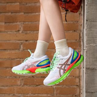 ASICS 亚瑟士 GEL-NIMBUS 22 LITE-SHOW荧光跑步鞋 1011A890-100