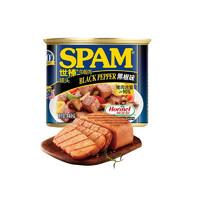SPAM 世棒 黑胡椒味 午餐肉罐头 340g