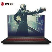 MSI 微星 侠客 GF75 17.3英寸游戏笔记本电脑(i7-10750H、8GB、512GB SSD、GTX1650Ti)