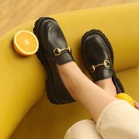 Josiny 卓诗尼 192116521 女士粗跟乐福鞋