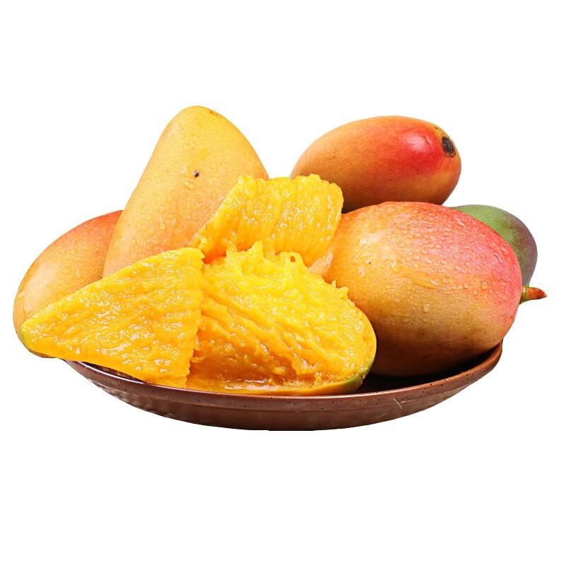水果蔬菜 邻和生鲜 贵妃芒 整箱5斤装(净重4.5斤)