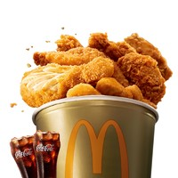 炸鸡天团桶2次券(加赠2杯可乐) * 2件 + 我就喜欢 双人欢享餐