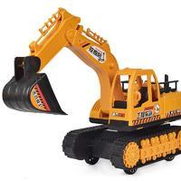abay 儿童挖掘机玩具模型