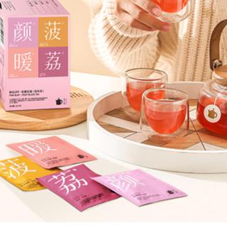 茶小壶 洽茶派对 年货礼盒装(水果茶24包+洽洽坚果12包)