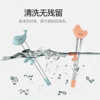 zolitt儿童筷子训练筷宝宝一段学习筷健康环保练习筷餐具食品硅胶