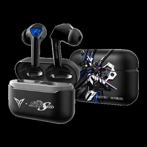 FLYDIGI 飞智 银狐T1 高达限量版 入耳式真无线蓝牙耳机 黑色