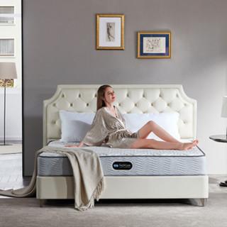 SIMMONS 席梦思 亚洲系列 欣喜 护脊弹簧床垫 白色 180*200cm