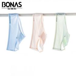 BONAS 宝娜斯 bsnk193650 冰丝网眼内裤 3条
