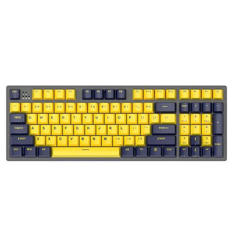 FirstBlood B16 琥珀 有线机械键盘 96键 Cherry红轴