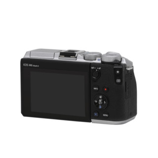 Canon 佳能 EOS M6 Mark II APS画幅 微单相机 黑色 EF-M 15-45mm F3.5 IS STM 变焦镜头 单头套机