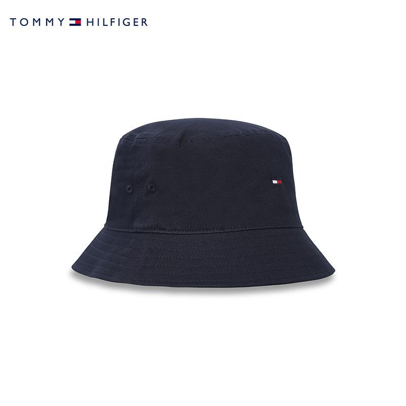 TOMMY HILFIGER 汤米·希尔费格 AM0AM07344 经典刺绣渔夫帽