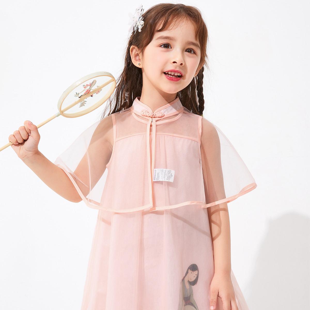 balabala 巴拉巴拉 汉服儿童连衣裙