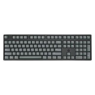 HP 惠普 K10C 108键 有线机械键盘 黑色 Cherry茶轴 无光