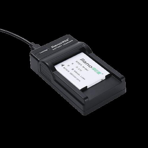 LIano 绿巨能 BN1 相机电池 3.7V 600mAh 充电套装