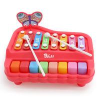 宝丽/Baoli 婴幼儿童益智八音敲琴男孩女孩早教音乐玩具木琴1-3岁