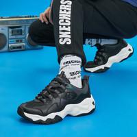 SKECHERS 斯凯奇 888005-BKMT 男子复古熊猫鞋