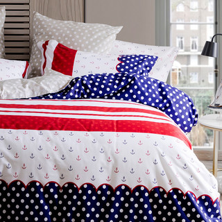 Dohia 多喜爱 雅克德罗 全棉印花四件套 1.5m床 床单款