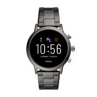 FOSSIL 化石 Gen 5 Carlyle 不锈钢触摸屏智能手表 兼容安卓苹果 44mm 灰色