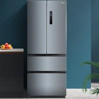 Midea 美的 BCD-369WFPZM(E) 电冰箱对开门 369L