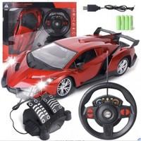 abay 电动遥控车儿童玩具赛车模型可充电汽车