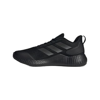 adidas 阿迪达斯 Edge Gameday 中性跑鞋 GW2499 黑色 42