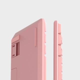 iKBC S200 87键 2.4G无线机械键盘 粉色 Cherry青轴 无光