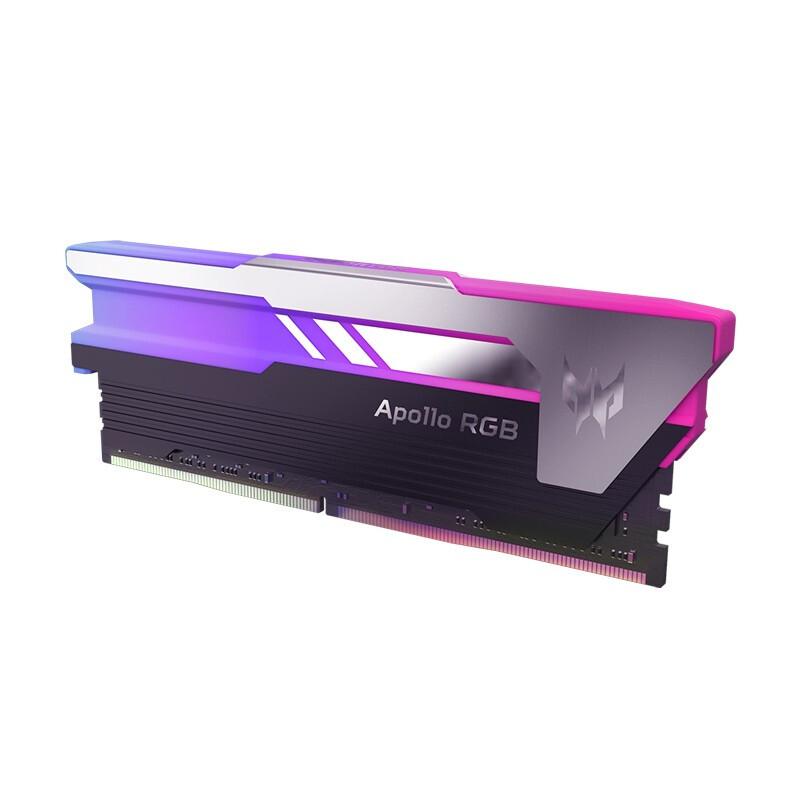acer 宏碁 掠夺者(PREDATOR)32GB(16G×2)套装 DDR4 4000频率 内存条 Apollo 星际迷幻系列(C17)B-die颗粒