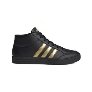 adidas 阿迪达斯 Vs Set 中性篮球鞋 FW5674 黑金 41