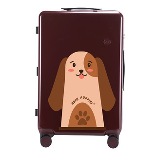 Hush Puppies 暇步士 万向轮旅行箱 20寸