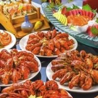 上海美食推荐:Marriott 万豪 周末、节假日不加价!上海绿地万豪酒店 小龙虾自助晚餐1人