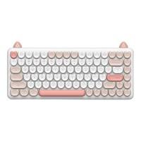 IQUNIX M80 84键 双模机械键盘 软软布偶 无光