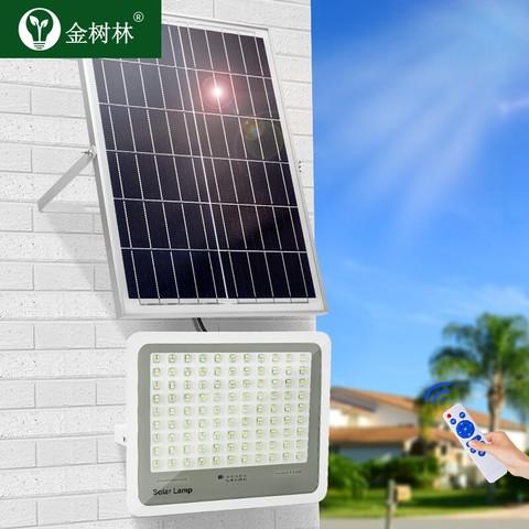 金树林 太阳能庭院灯 1200流明+15000mAh+5m线