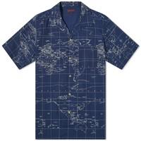 CLOT 凝结集团 男士短袖衬衫