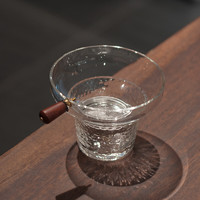 SUYI 素以 手工锤纹耐热玻璃茶漏