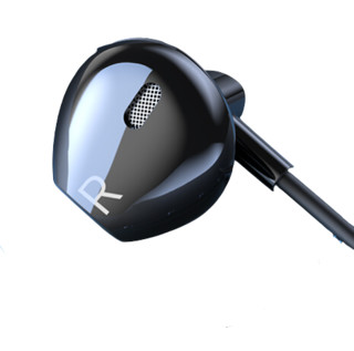 enkor 恩科 EM220 入耳式耳塞式动圈有线耳机 黑色 3.5mm