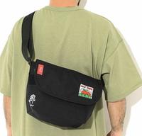 Manhattan Portage Keith Haring联名 MAN-MP1605JRKH21 苹果刺绣邮差包