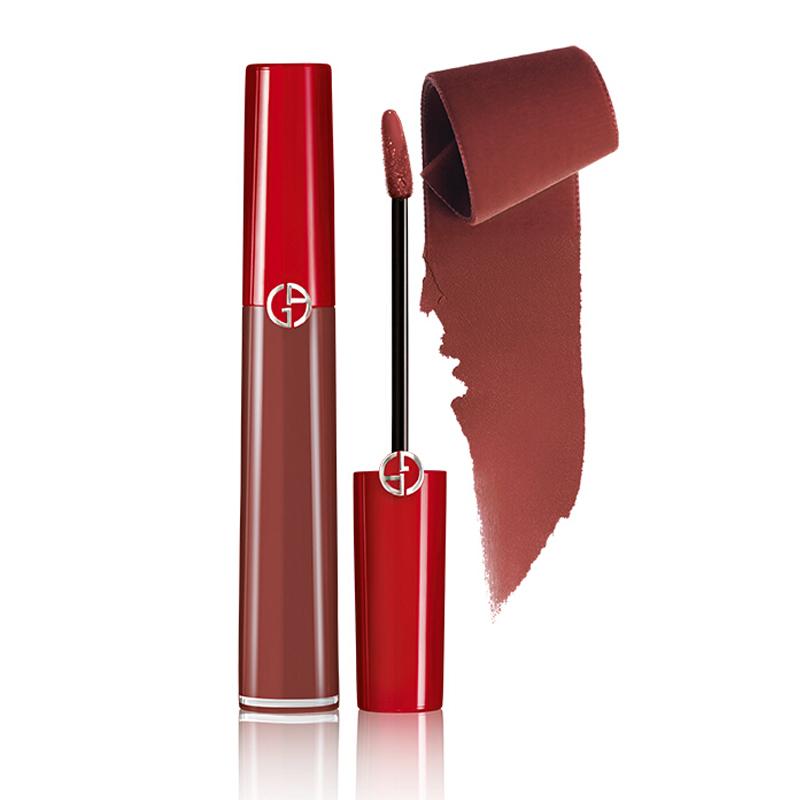 黑卡会员 : GIORGIO ARMANI 乔治·阿玛尼 臻致丝绒哑光红管唇釉 6.5ml