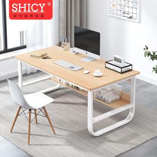 SHICY 实采 书桌电脑台式桌家用租房卧室简易书桌简但学生单人学习写字桌子 多种规格可选