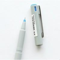 ZEBRA 斑马 BE100 针管速干中性笔 单支装 3色可选