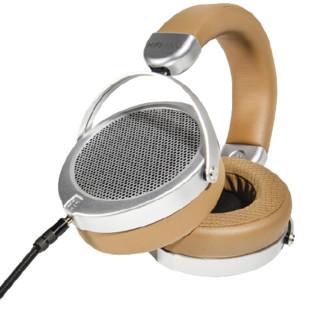 HIFIMAN 海菲曼 HiFiMAN 海菲曼 DEVA 有线版 耳罩式头戴式有线耳机 棕黄色 3.5mm