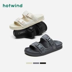 hotwind 热风 H60M1671 男士时尚拖鞋
