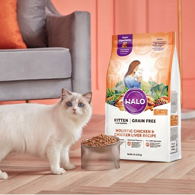 HALO 自然光环 健美系列 全期猫粮 10磅