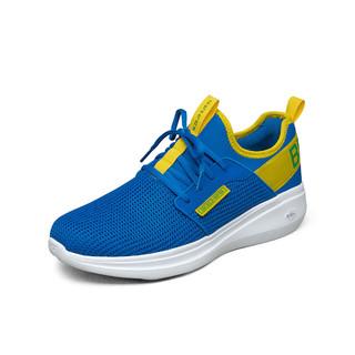 SKECHERS 斯凯奇 男子跑步鞋绑带轻便舒适休闲运动鞋