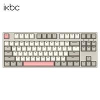 PLUS会员:iKBC W200 无线机械键盘 87键 茶轴 工业灰