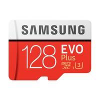 SAMSUNG 三星 EVO Plus系列 micro存储卡 128GB(UHS-I、U3)