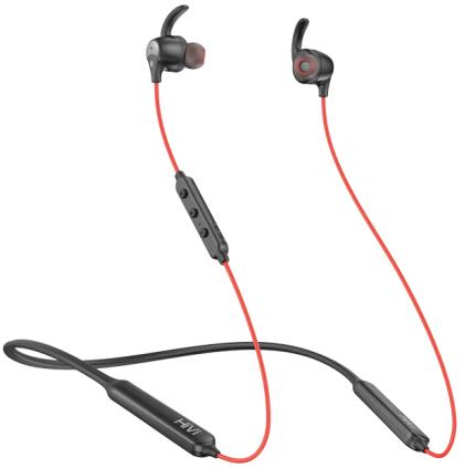 HiVi 惠威 AW-57 入耳式颈挂式主动降噪蓝牙耳机 红色
