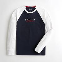 HOLLISTER/霍利斯特 KI323-9411201 男士长袖T恤