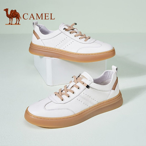 CAMEL 骆驼 A112107010 男士低帮休闲板鞋
